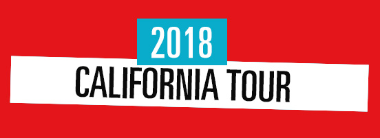 Californian Tour Dates 2018